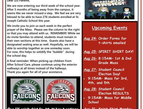 Falcon News August 24, 2020