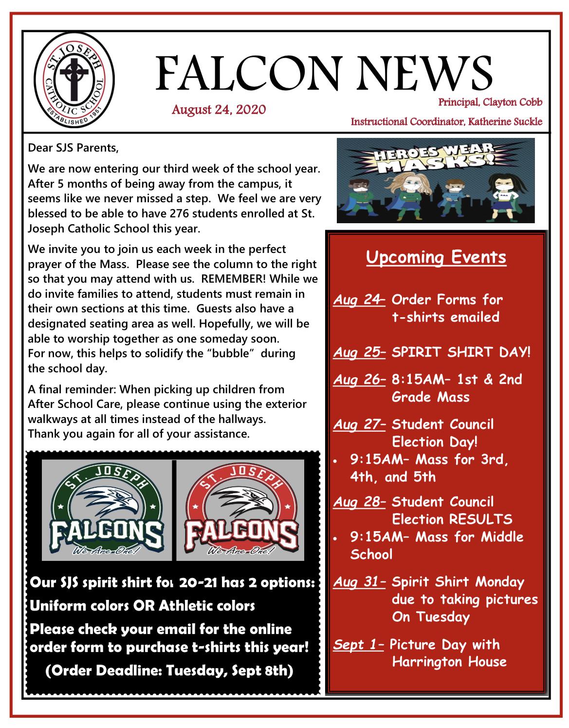 Falcon News 8/24/2020 pg 1